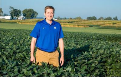 Chad Lee, director of the UK Grain and Forage  Center of Excellence