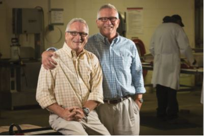 Brad and Steve Smith of Fishmarket Seafood in Louisvillehelped build the successful partnership between Kentucky Proud and Kroger.