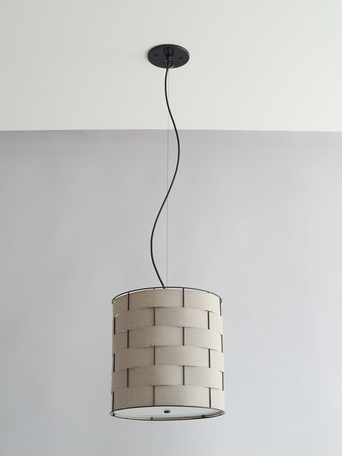 Basket Weave_C-129_Drum Pendant_black_wheat.jpg