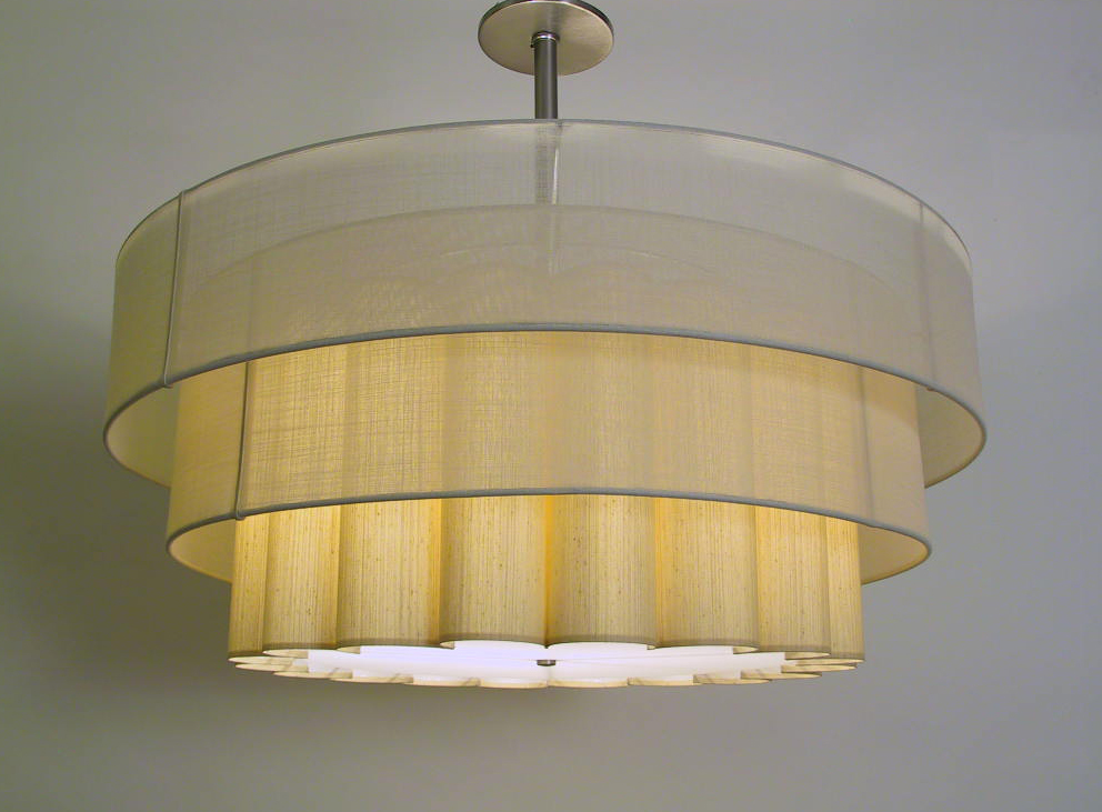 Cumulus_C-127 _Cumulus Pendant w_ Double Sheer Outer Shade_Cream Sheer_Cream_on.JPG