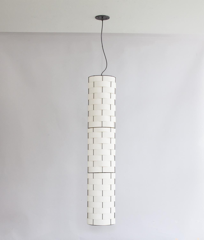 Basket Weave_C-130_Column Pendant_black_white_1a_off.JPG.jpg