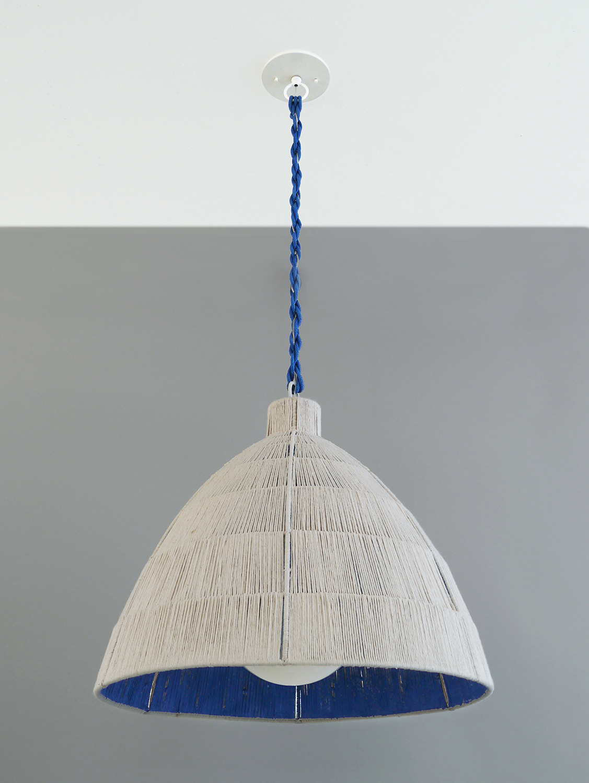 Rope_C-177_Capped Dome Rope Pendant_Cobalt Blue.jpg