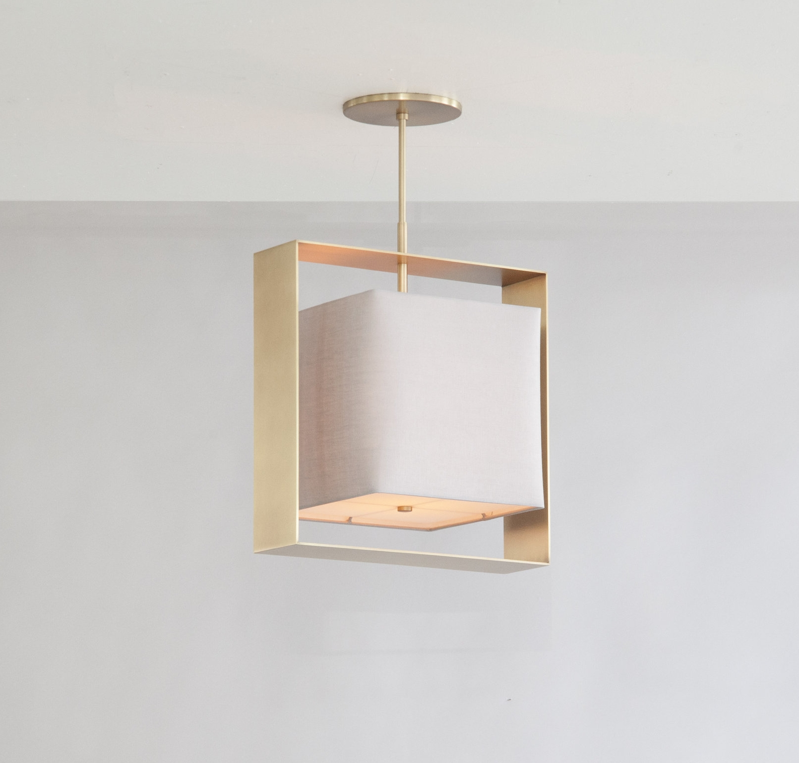 C-145  Halo Box Pendant_Satin Brass_Linen.jpg