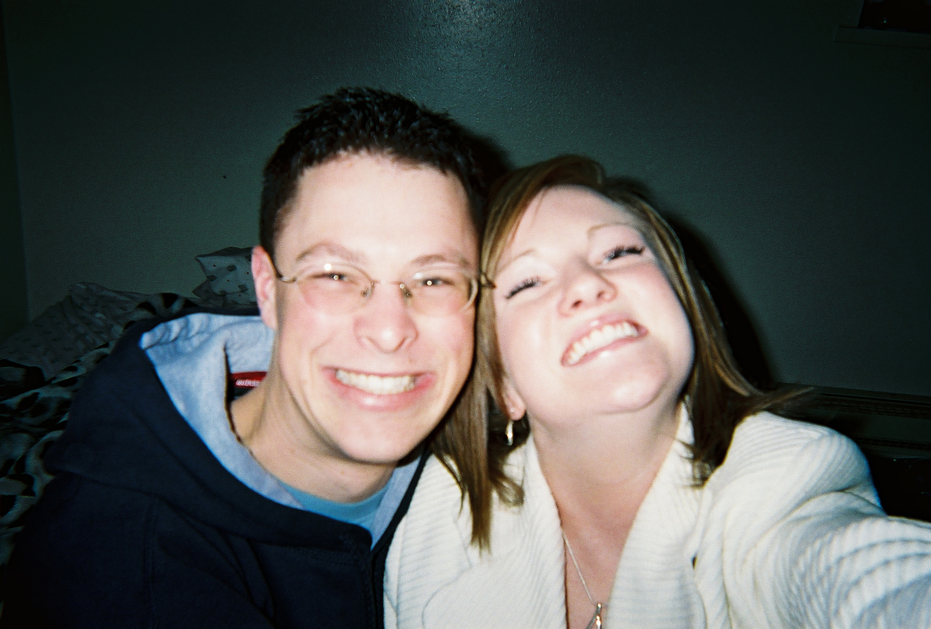 The early dating days. 2003.