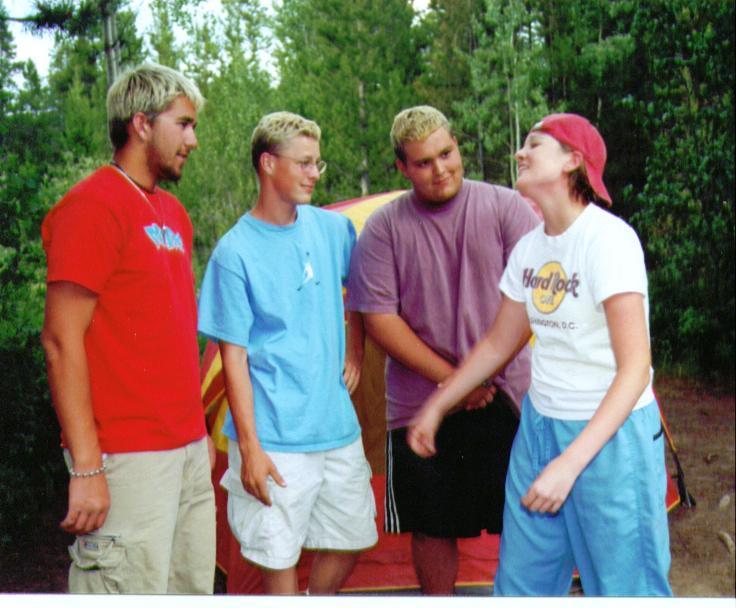 Circa 2000.High School versions of us. (No judgment, ok?)
