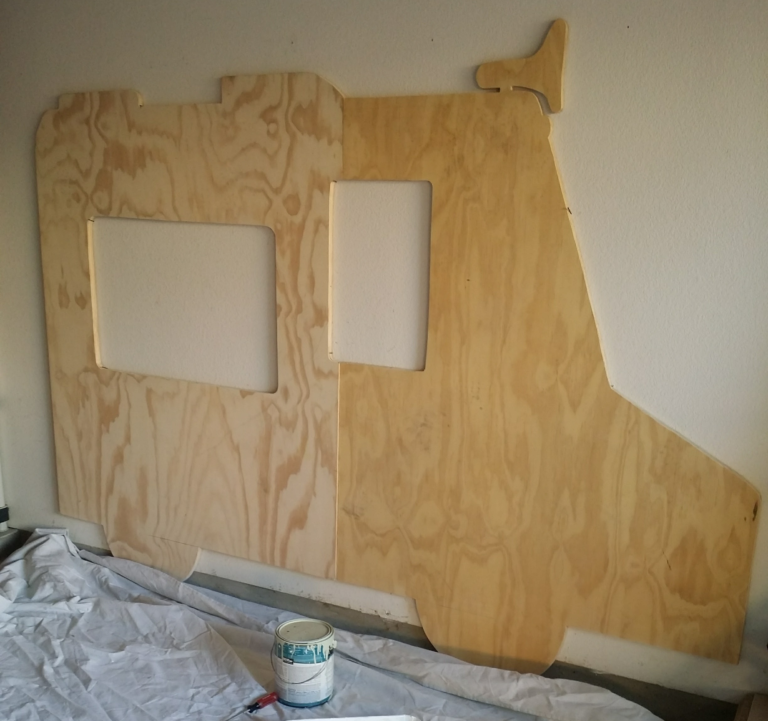 Plywood cut out
