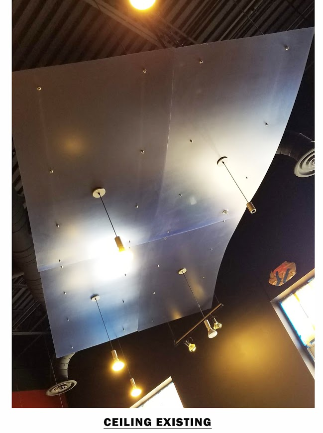 Existing Photo: Suspended Ceiling Panel