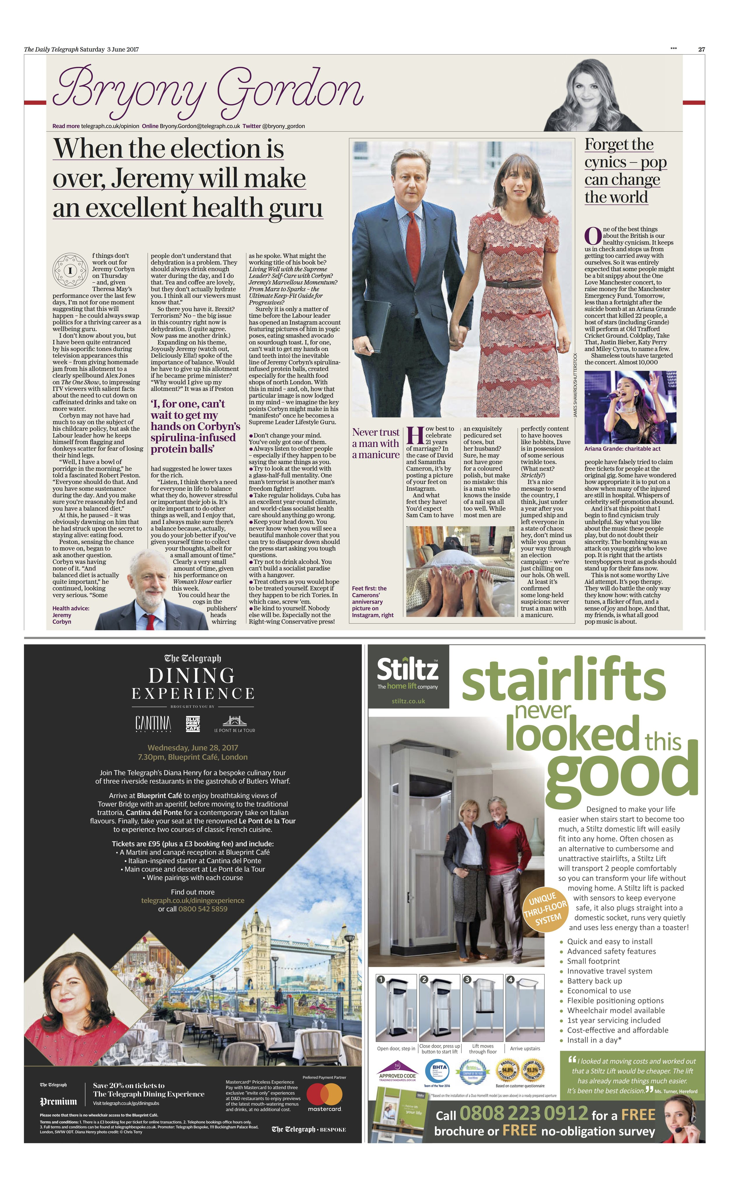 David Cameron / The Daily Telegraph