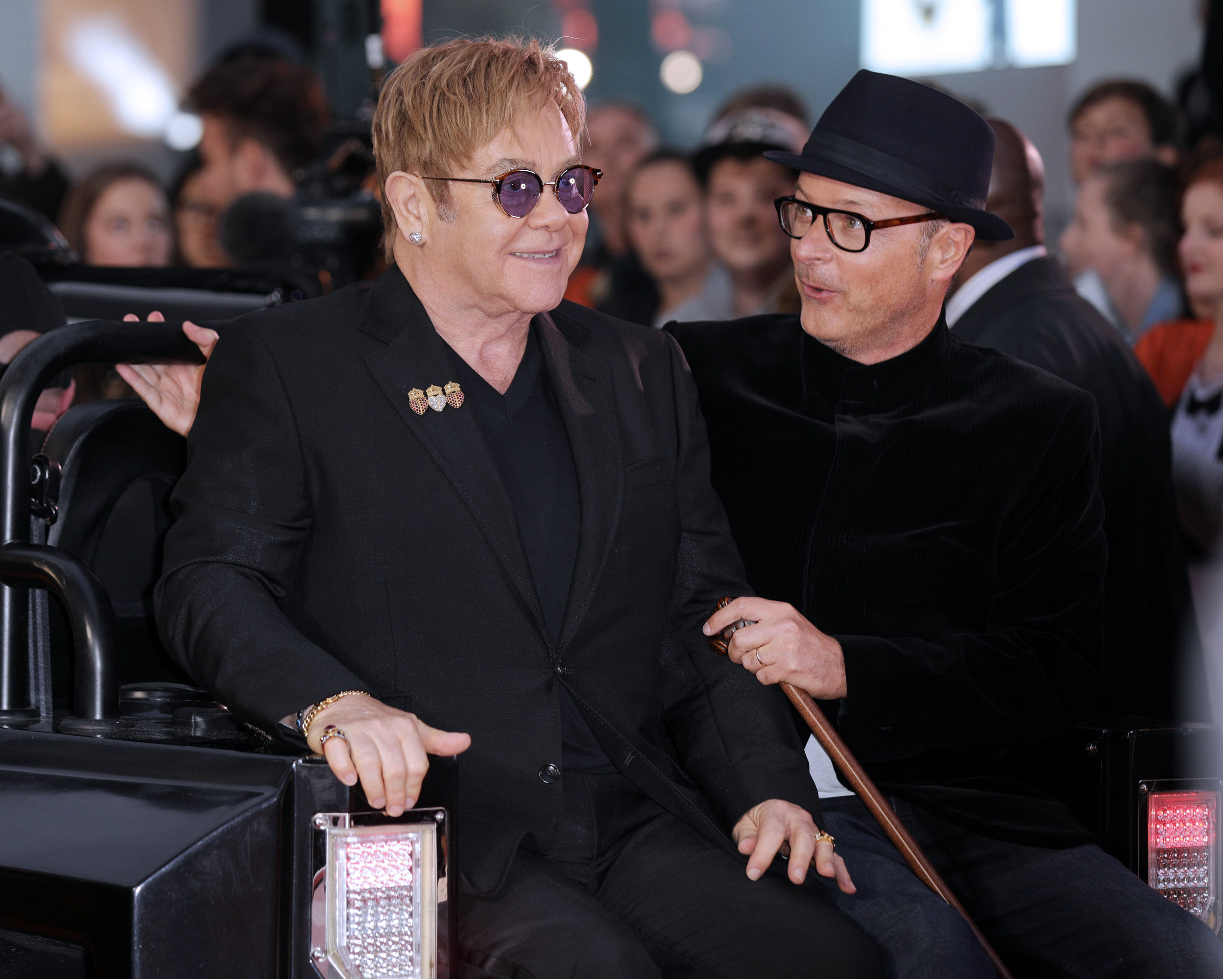Sir Elton John and Matthew Vaughn