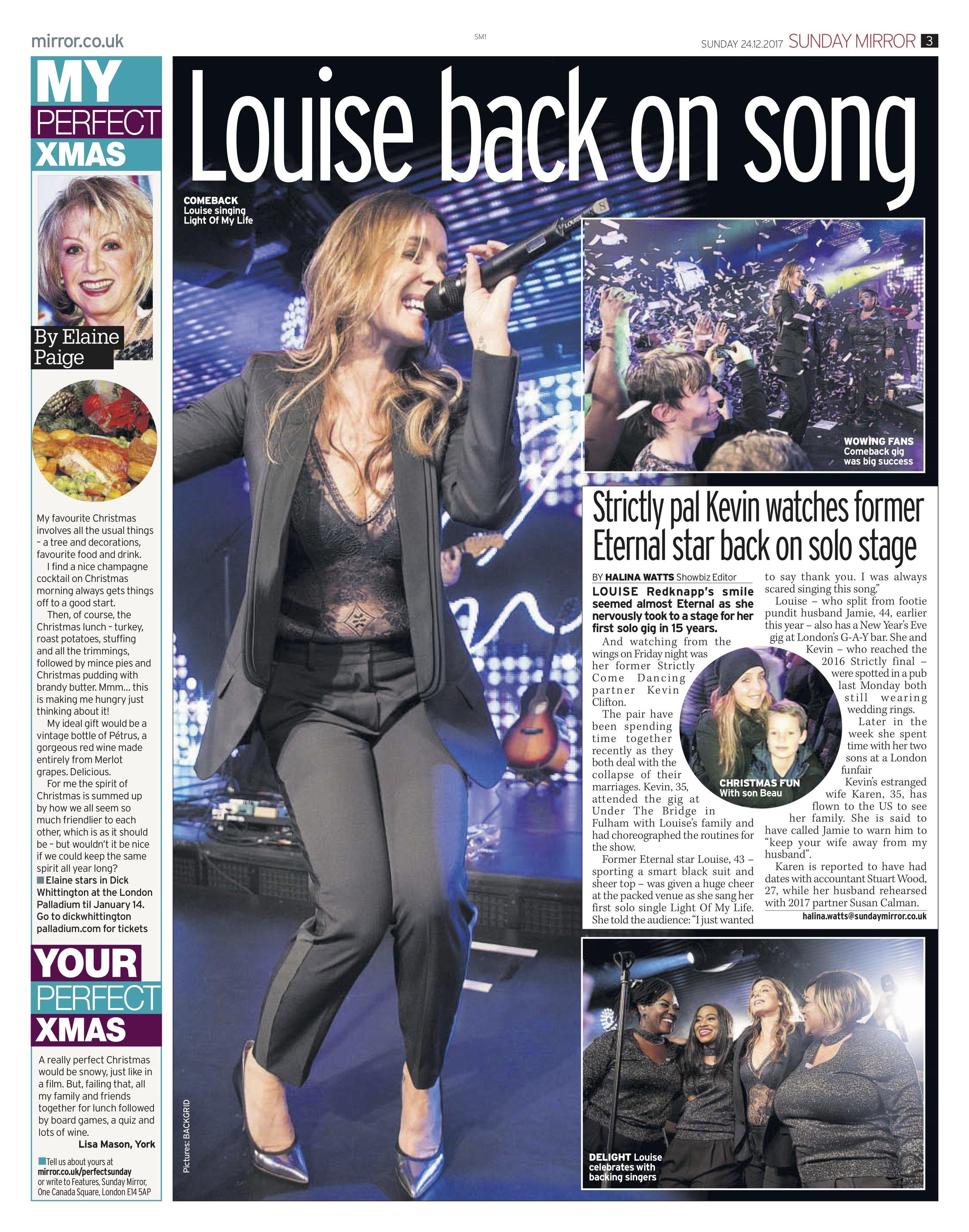 Louise Redknapp / Sunday Mirror