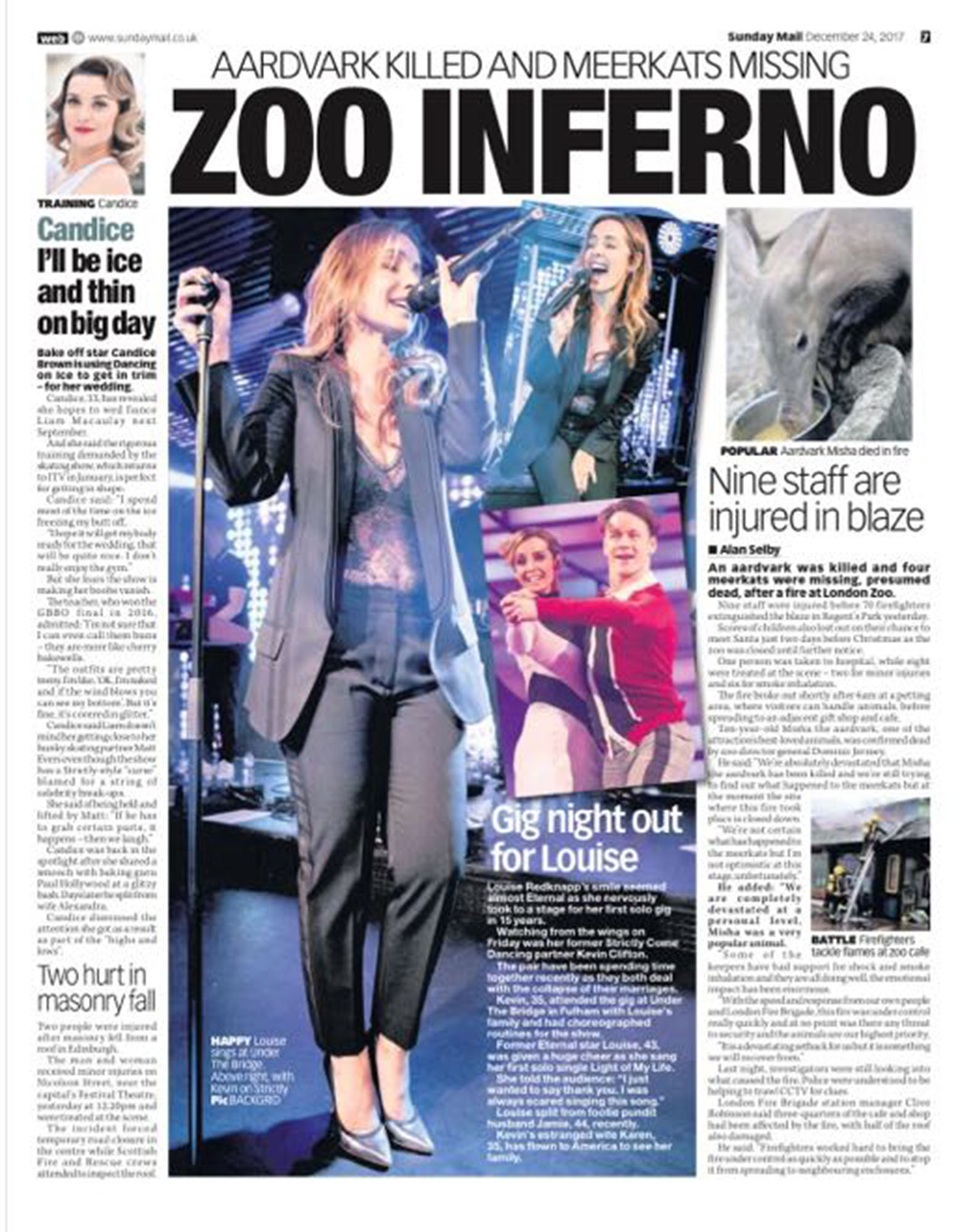 Louise Redknapp / Sunday Mail