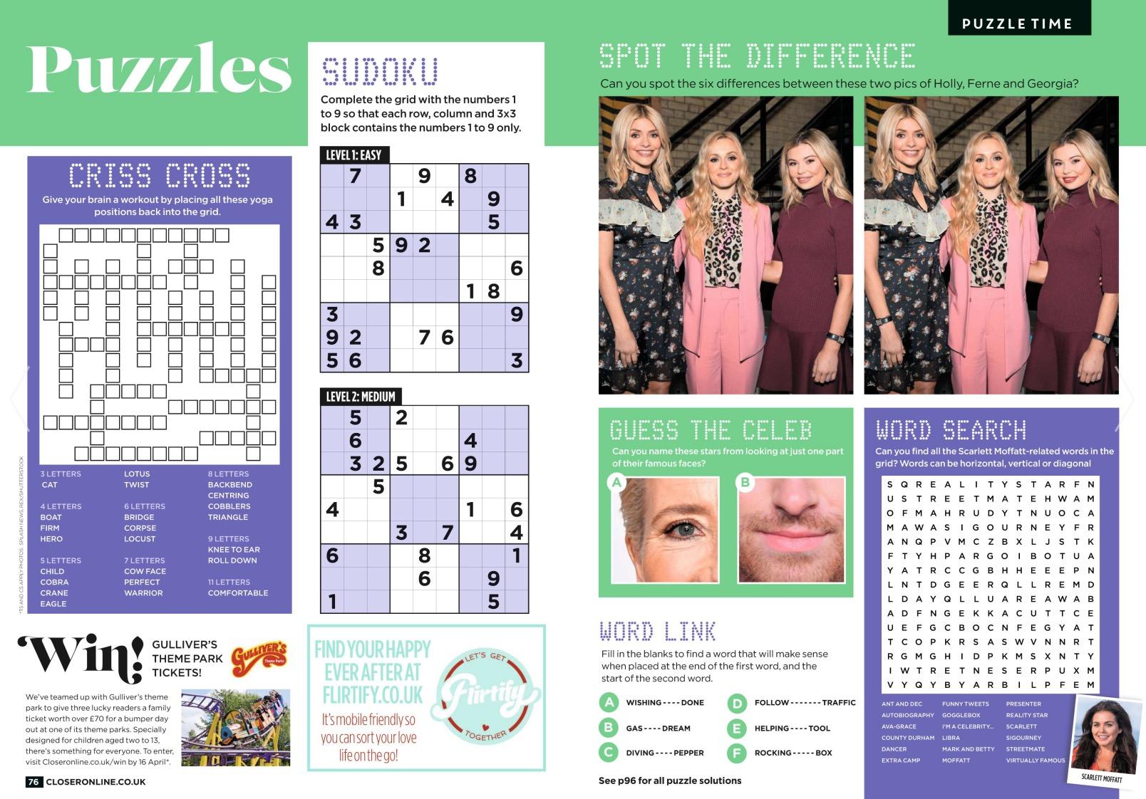 Celebrity Juice / Closer Magazine