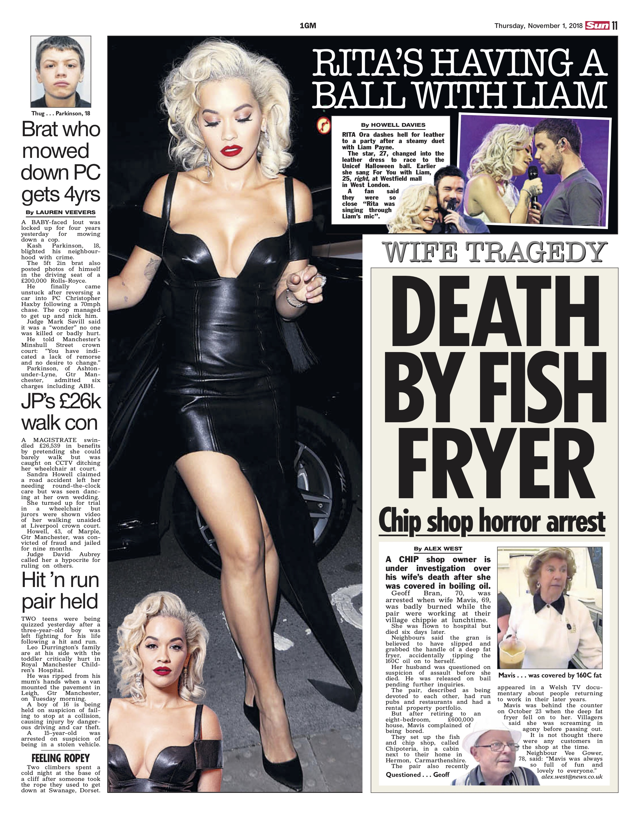 Rita Ora and Liam Payne / The Sun
