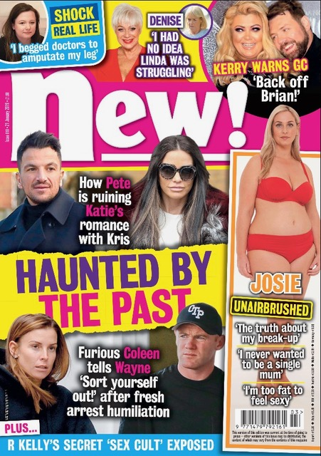 Gemma Collins and Brian McFadden / New Magazine