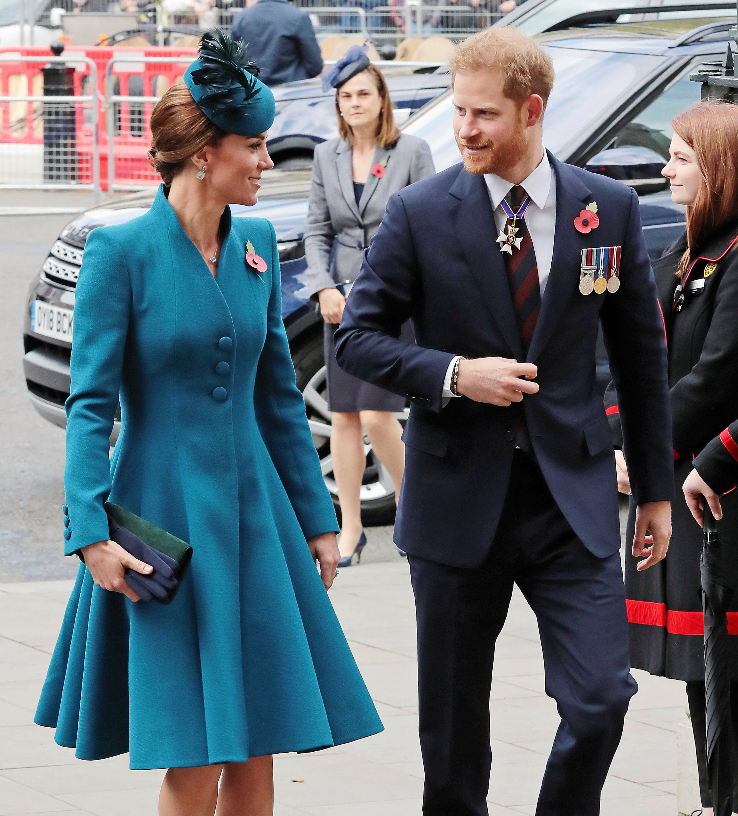 Catherine Duchess of Cambridge and Harry Duke of Sussex