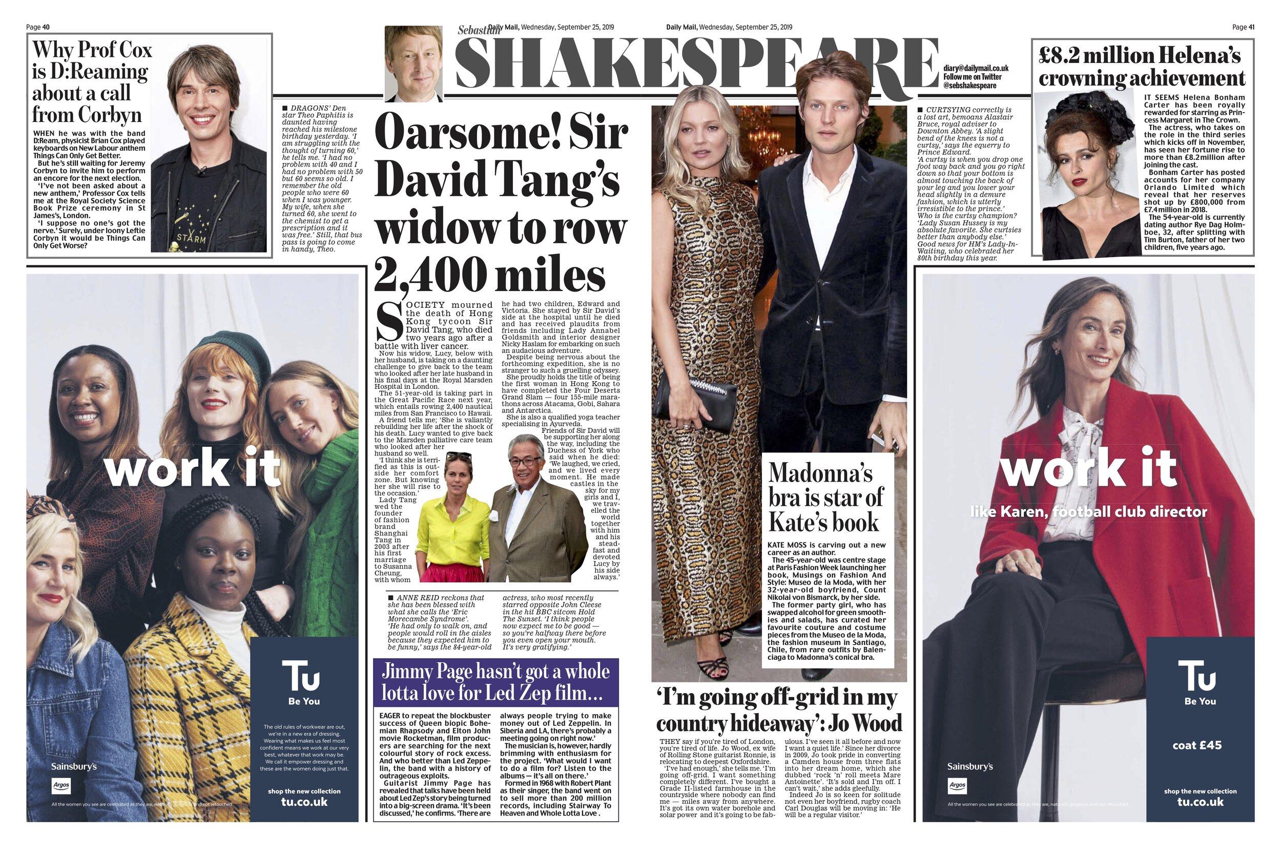 David Tang / Daily Mail