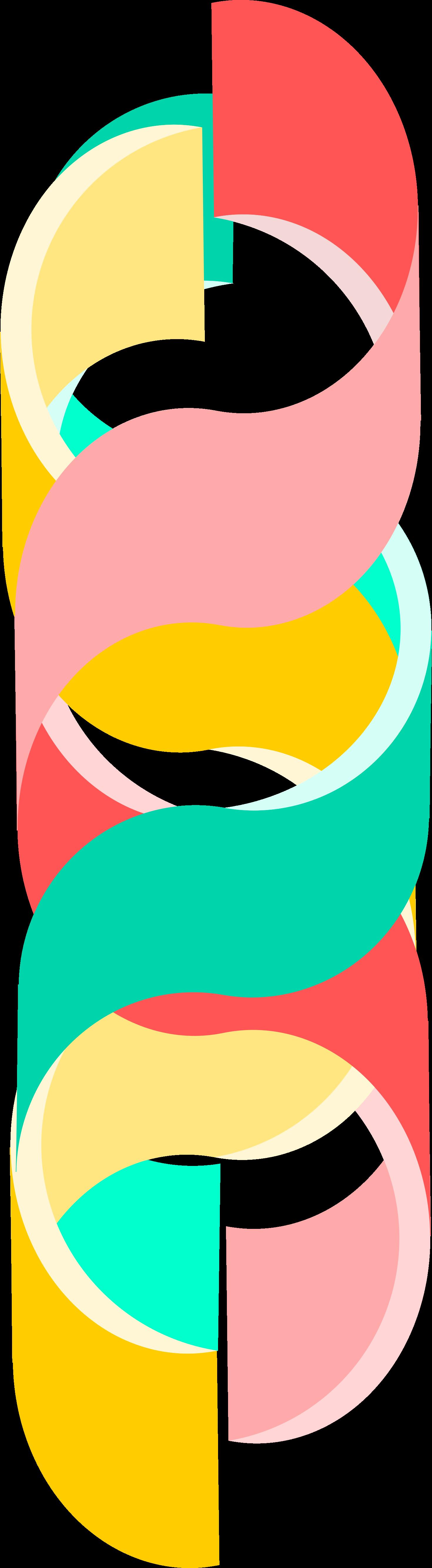 Rappresentazione grafica della tripla elica del collagene