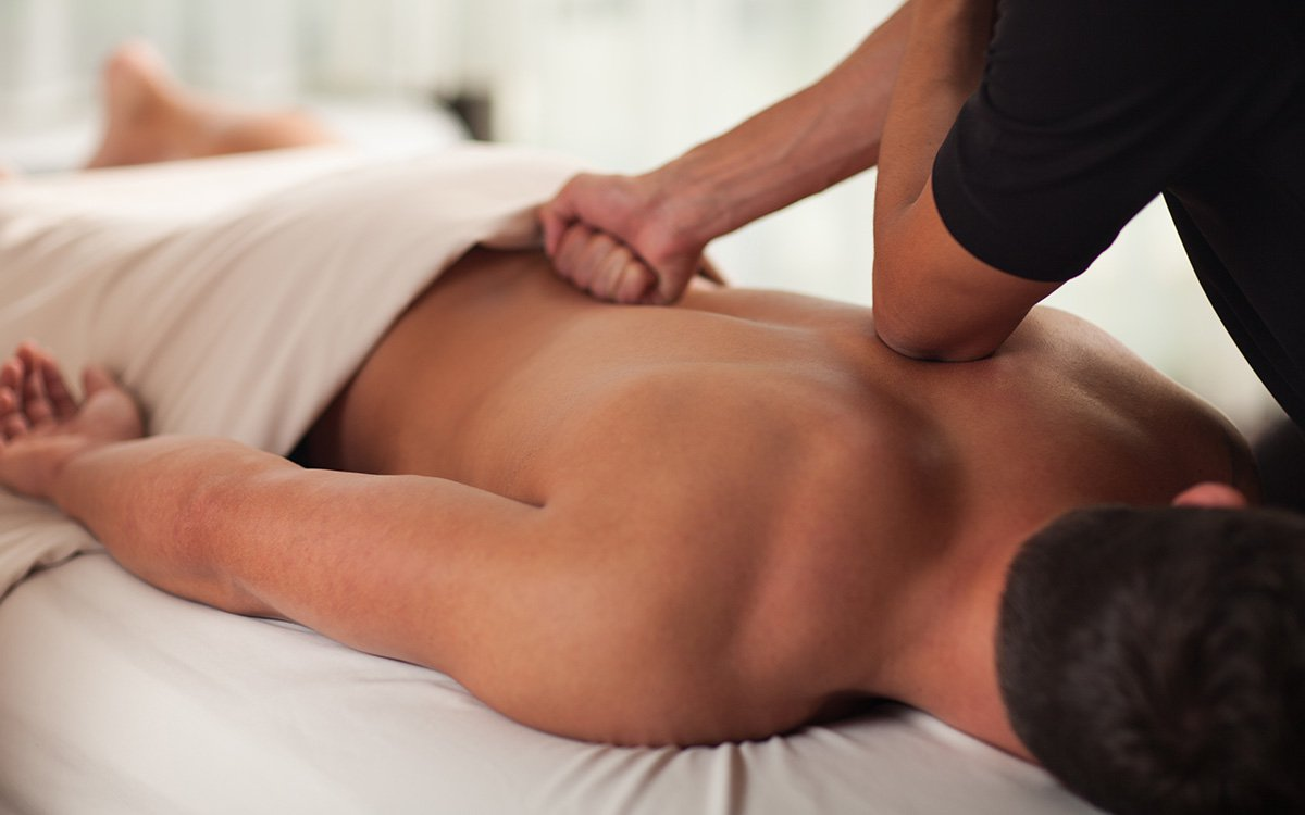 Deep Tissue:    A type of massage therapy, deep tissue massage uses firm pressure and slow strokes to reach deeper layers of muscle and fascia (the connective tissue surrounding muscles). It's used for chronic aches and pain and contracted areas such as a stiff neck and upper back, low back pain, leg muscle tightness, and sore shoulders.