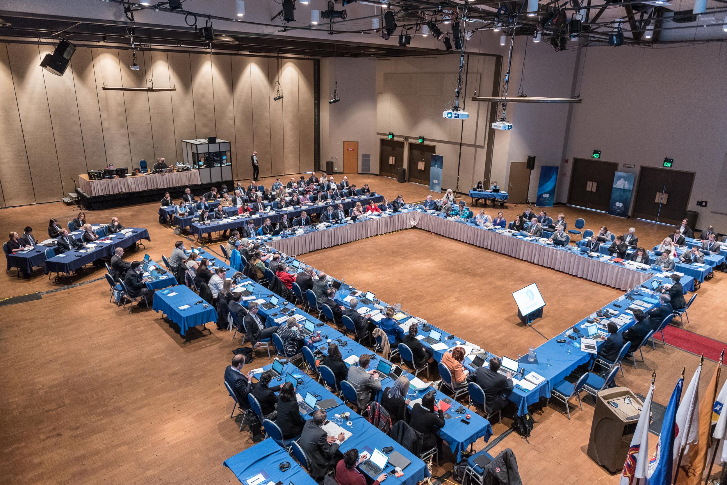 Plenary SAO meeting in Juneau, Alaska, USA March 2017. Photo: Linnea Nordström