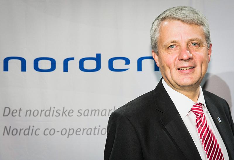Dagfinn Høybråten, Secretary General of NCM - NORDEN©Magnus Fröderberg