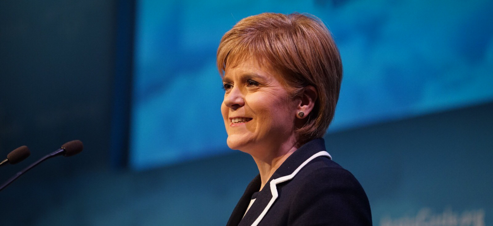 First Minister sees Scotland's perspective as one of being a gateway to the Arctic.  JONAA©Arctic Circle