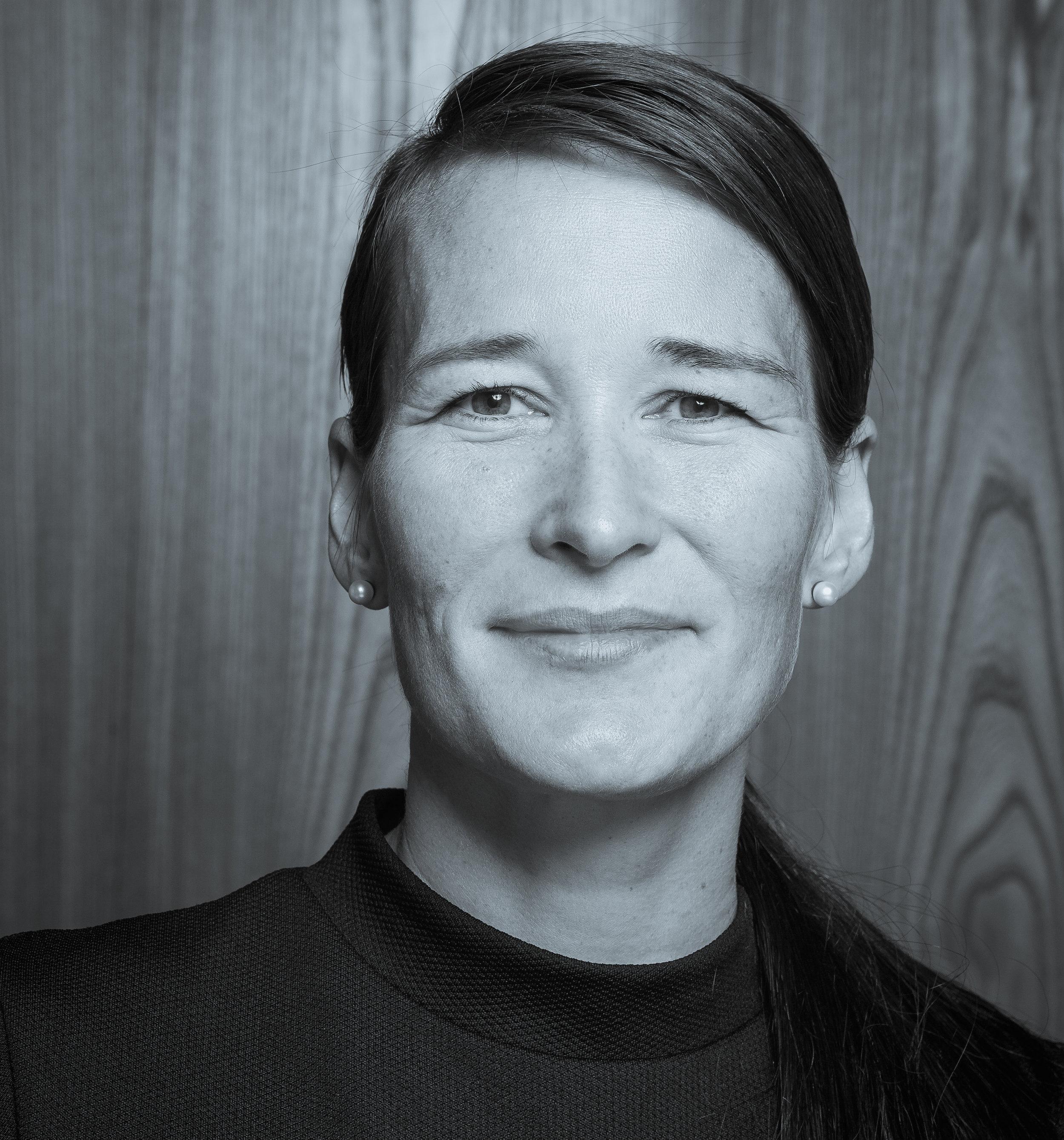 Inga Dora Markussen<br>Head of Education & Training at Royal Greenland. Former General Secretary of the West Nordic Council. ©Heida Helgadottir