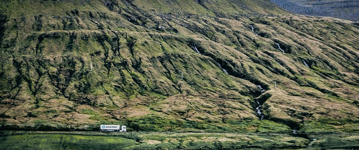 Trucking in the Faroes. JONAA©Mia Bennett