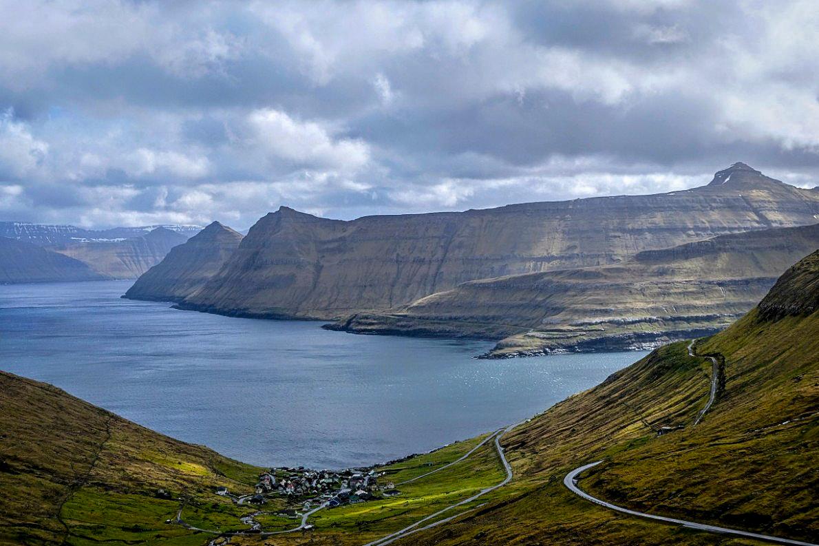 On the road in the Faroe Islands. JONAA©Mia Bennett