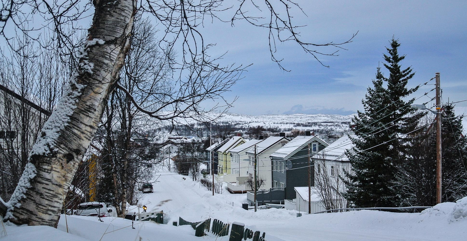 Kirkenes, North Norway has a deep-sea port facing the Northeast Passage - and a projected arctic railway line connecting to Rovaniemi and continental Europe.  JONAA©Hlin Johannesdottir