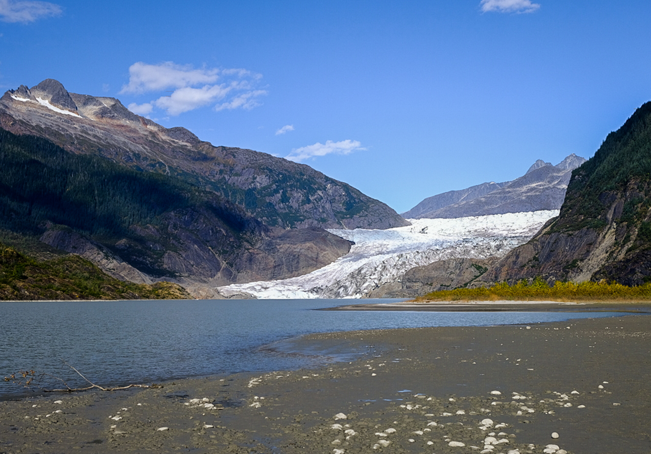Once the Mendenhall Glacier retreats all the way to the top, there will be no more chasing the ice up the valley. JONAA©Mia Bennett