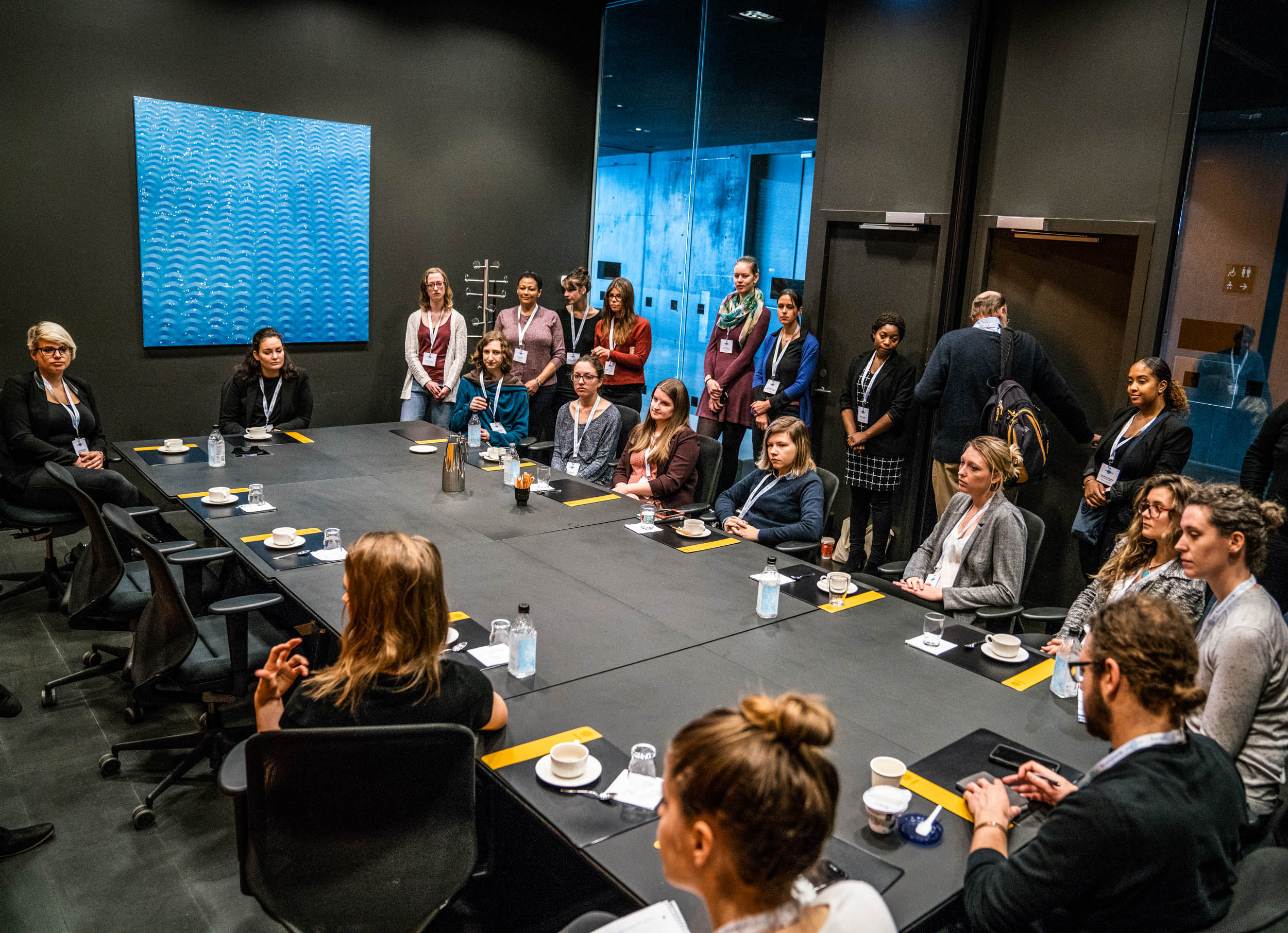 With the Assembly's extensive program as many as 16 breakout sessions can be simultaneously going on throughout Harpa. All pictures above: JONAA©Óli Haukur Myrdal