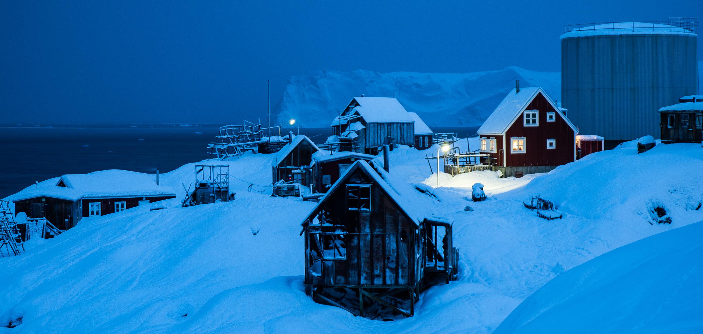 Connectivity in remote Arctic communities is of utmost importance to support most aspects  of sustainable life, e.g. business, research, education and health. JONAA©Kristjan Fridriksson