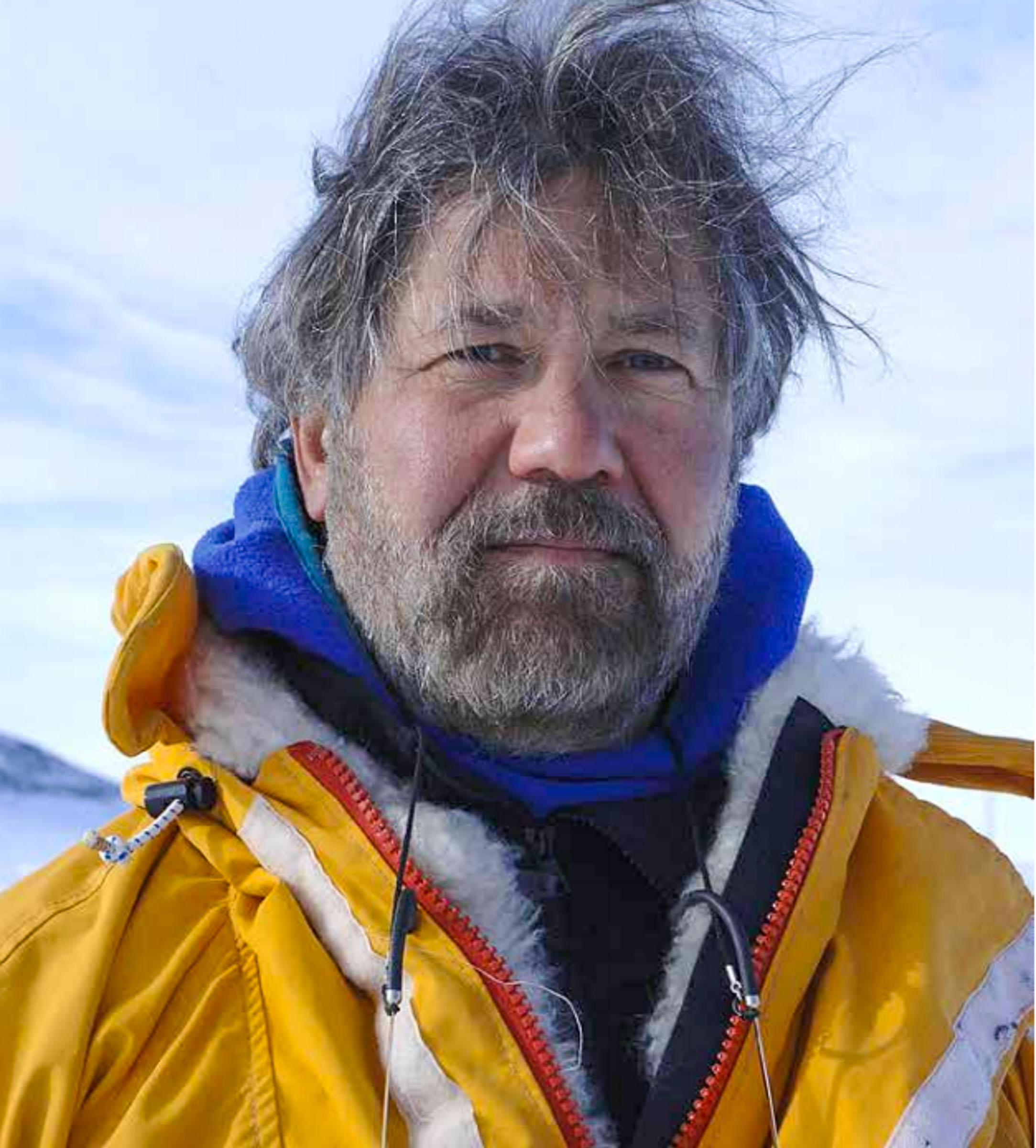 Glaciologist, climate change specialist and polar-explorer, Dr Paul Andrew Mayewski, Director of the Climate Institute of Maine.