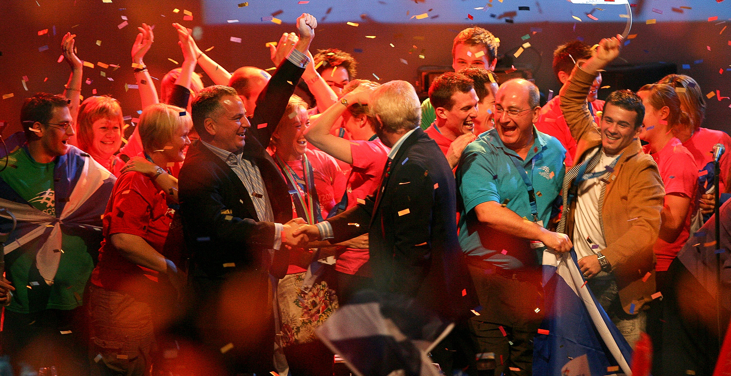 Scots celebrating the outcome of a vote.   JONAA©Marc Turner