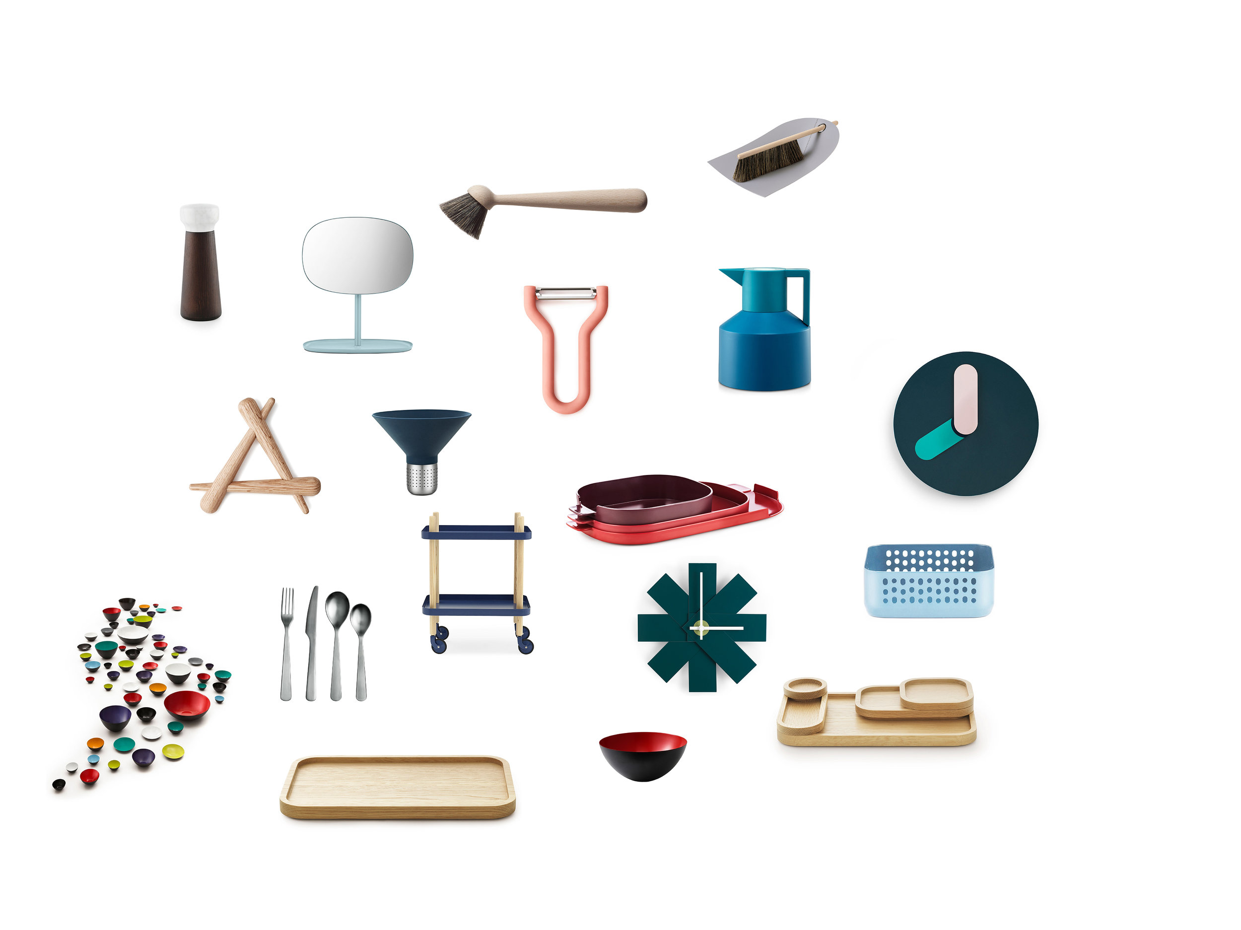 Preliminary Research - During the initial research I looked at the products that normann copenhagen is offering.