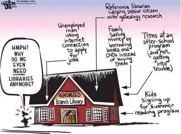 Why do we even NEED libraries anymore?