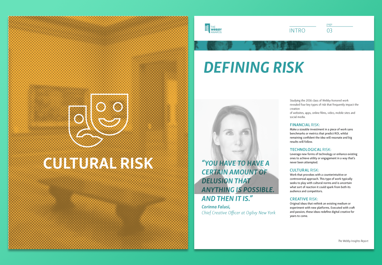 From our dive into the yearly culture and focus of the internet we create a trend report to share with our community. Our white paper aims to help our community focus their strengths into creating for the future. I created the layout, & art style to reflect the content created by our research and editing team.