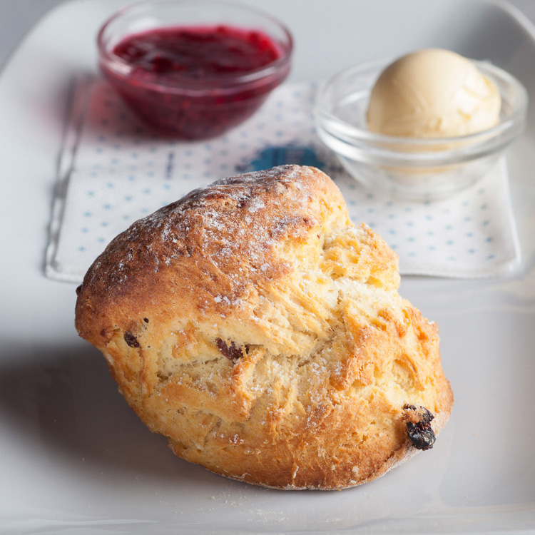 All-butter Scone with BiteSize's Homemade Raspberry Jam