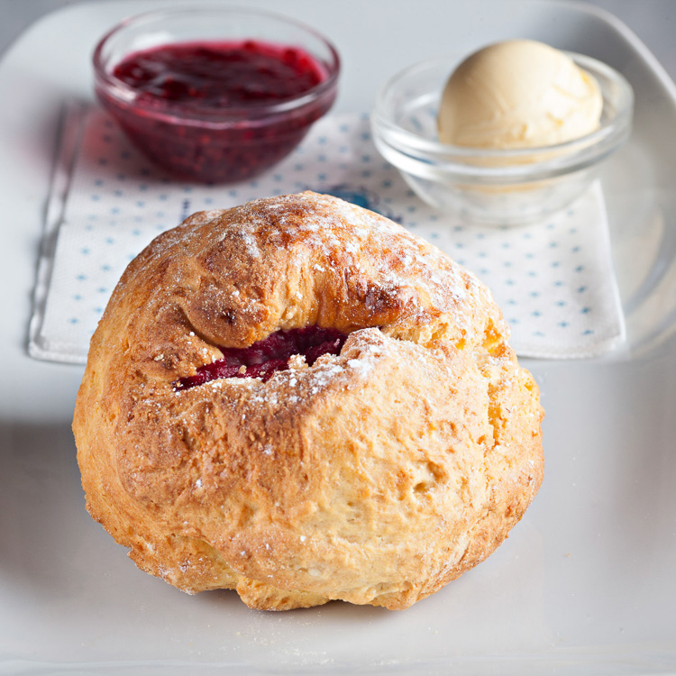 Blackberry Scone
