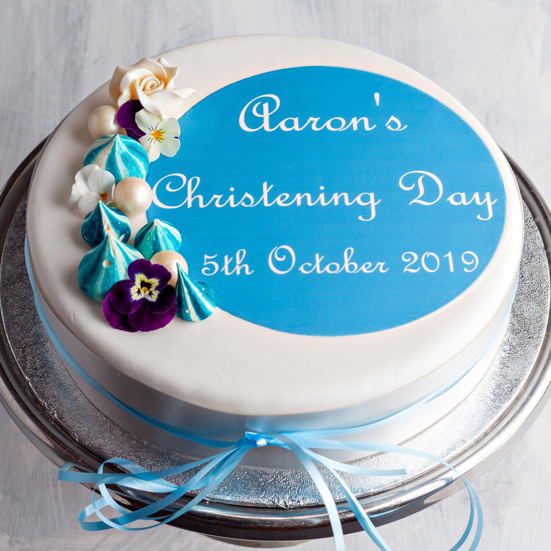 Christening Cake—Girl or Boy