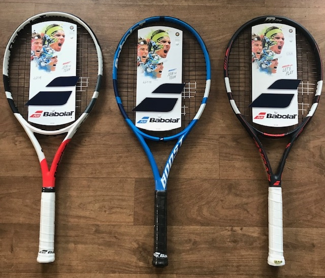 Tennis Store - On site we have a variety of Tennis Rackets, Grips & Re-String options available. We have rackets suitable for Beginners through to more Advanced players. We also offer a Junior range so you know your child has the perfect racket for their age, ability and ball type.