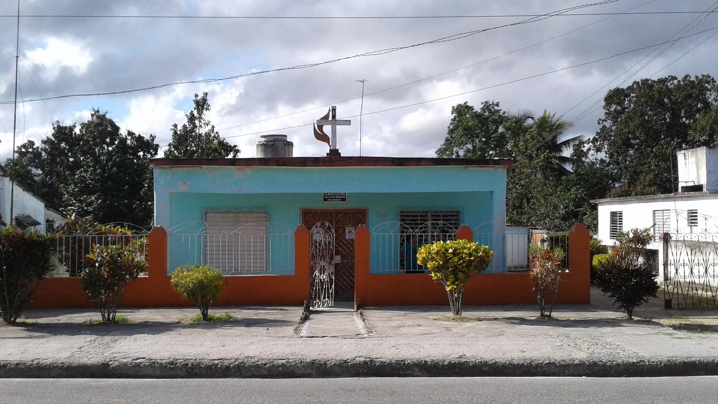 Our sister church in La Mosa, Cuba