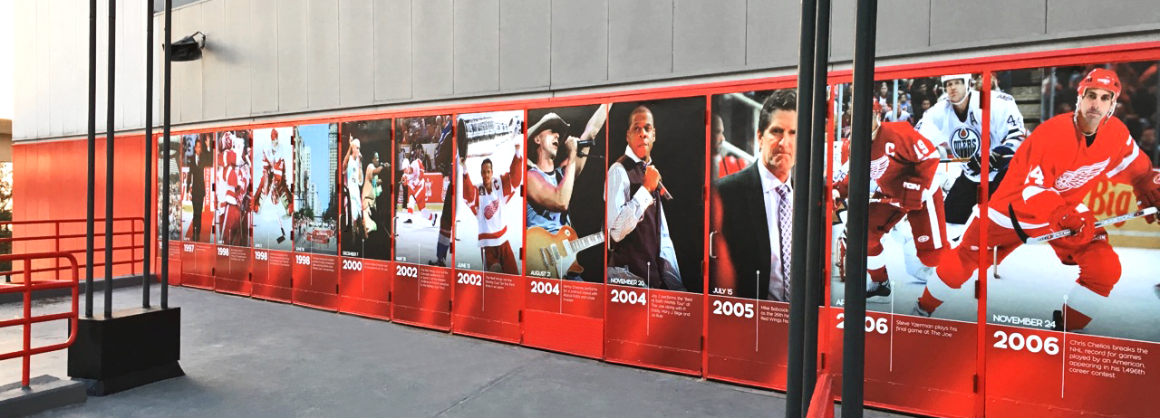 Joe Louis Arena Farewell Season Doors Timeline