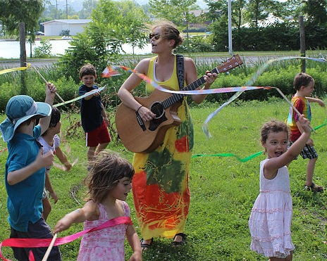 Miss Angie Beeler - has music in her bones and has not gone a day in her life without a song.Miss Angie began teaching music to kids in 2003 in Boulder, CO. There, Angie successfully completed the Music Together® Training Workshop developed by the Center for Music and Young Children, Princeton, New Jersey, and taught for Music Together Boulder. After her son's birth in 2007, she began focusing her energies on creating her own curriculum which developed, five years later, into what is now Miss Angie's Music! She started the business in 2012 and since then has happily served hundreds of local families. In addition to her children's music, Miss Angie plays with a number of local musical groups including Arthur B. and The Planetary Mix (Old School New School R&B Soul Groove), The Lynn Wiles Angie Beeler Duo (Brazilian Bossa Nova, Vocal Jazz), Honey Cave (Alyssa Durkensen, Jessie Baldassari, Lora Pendleton), Travis Knapp,Angela Marion (Original America Alt Folk), and others!