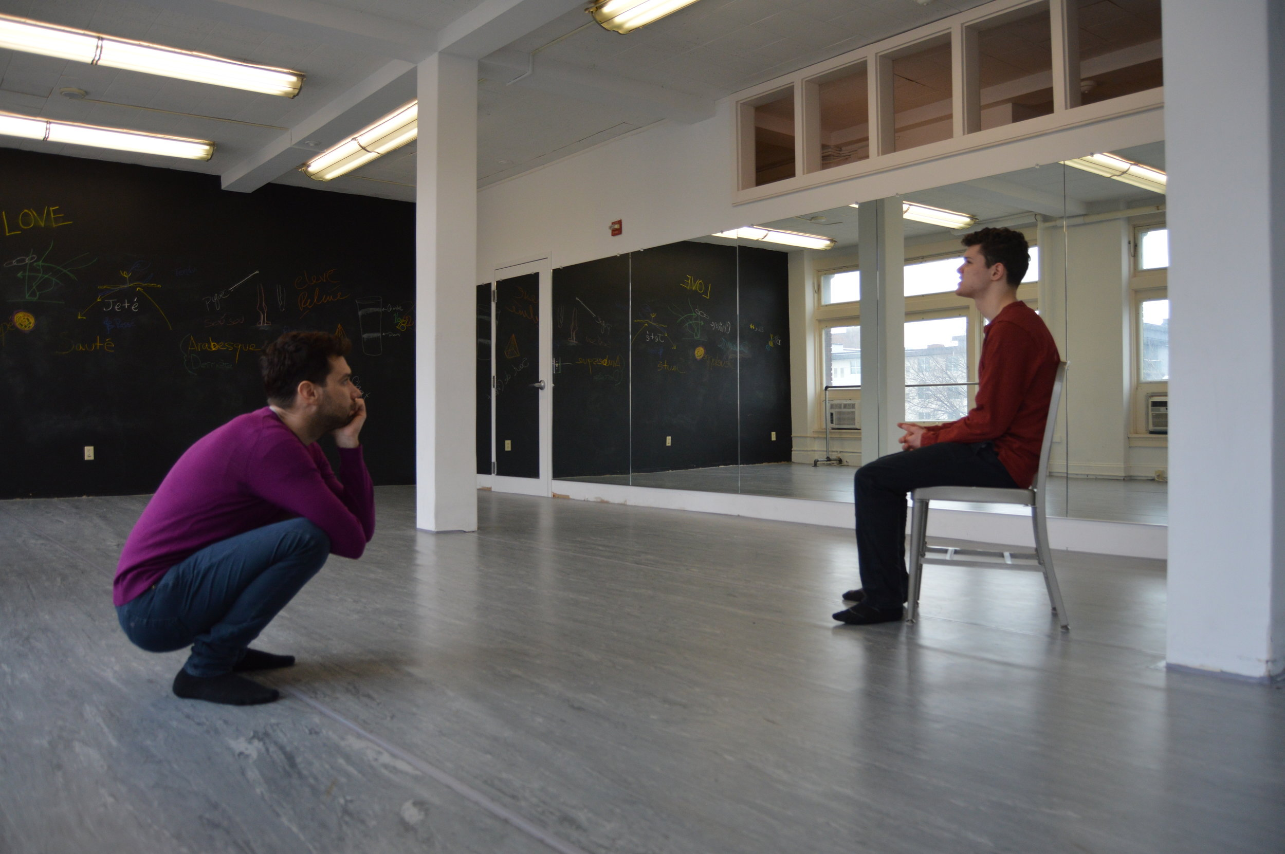Guest Faculty, Karl Gregory in an acting coaching