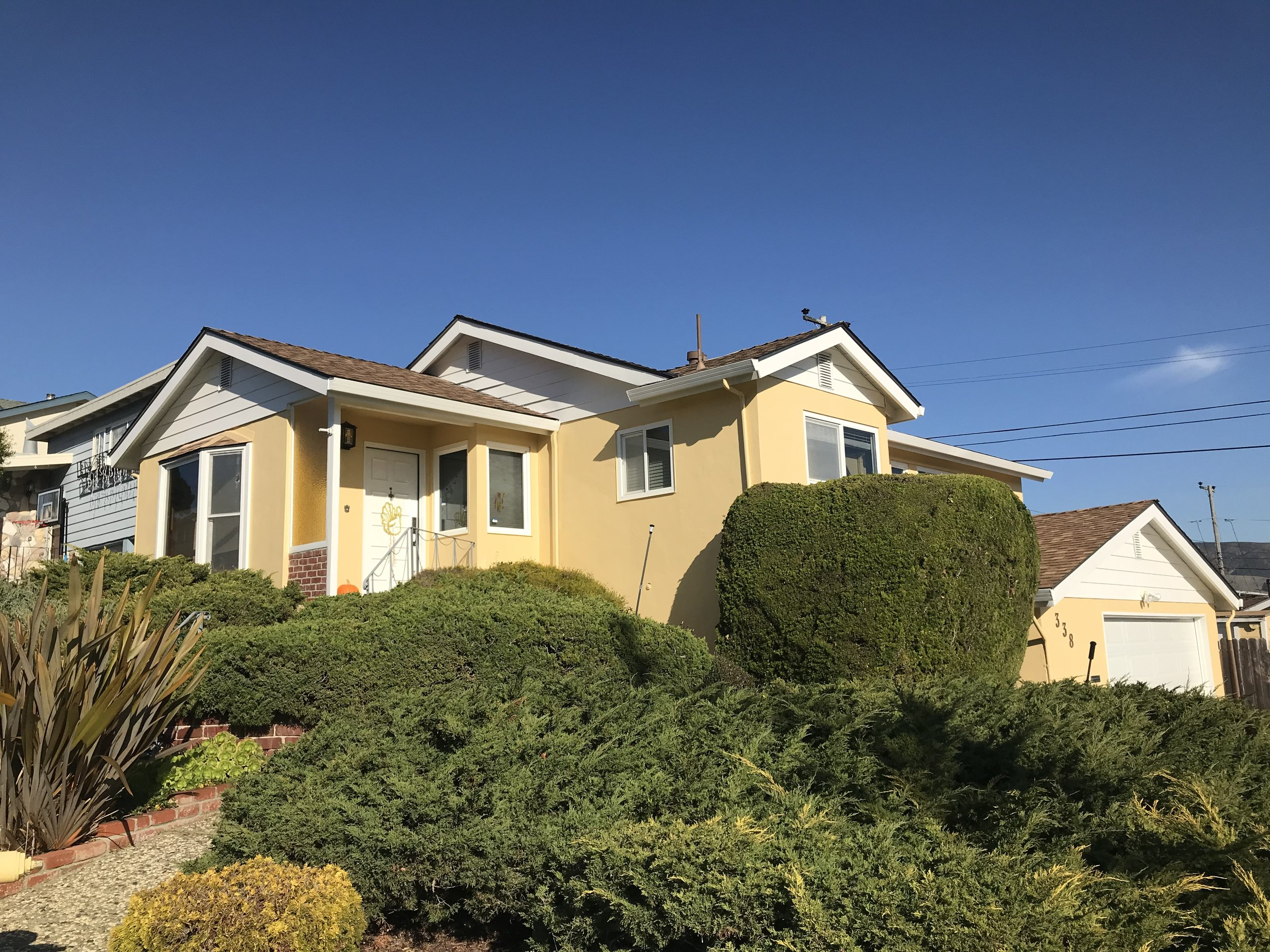 338 Arroyo Dr.  South San Francisco, CA  Represented Seller    insight realty  dre| 01876241