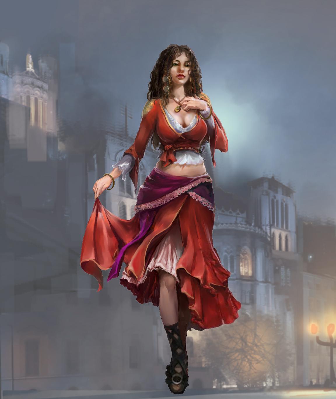 Esmeralda's Costume