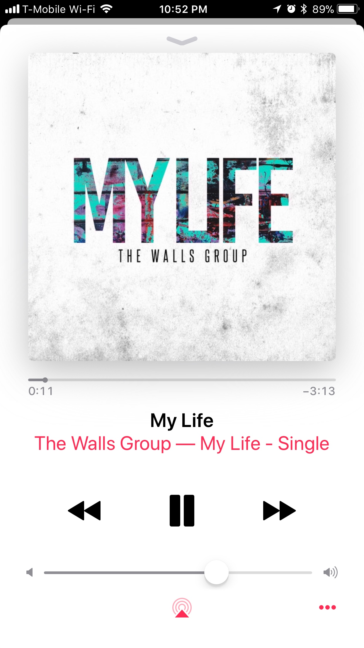 The Walls Group - My Life