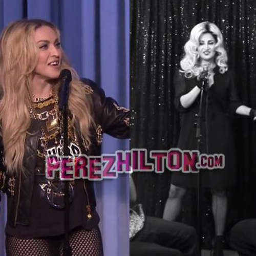 EXCLUSIVE! Did Madonna Steal One Of Her Stand-Up Jokes From A Comedian? Watch And Decide For Yourself!!