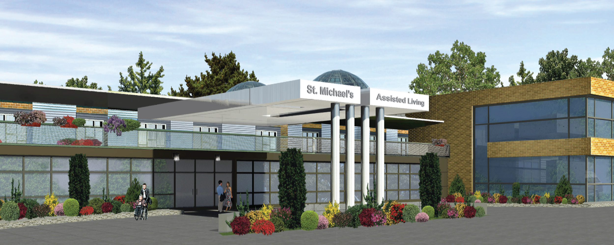 Assisted Living Entrance